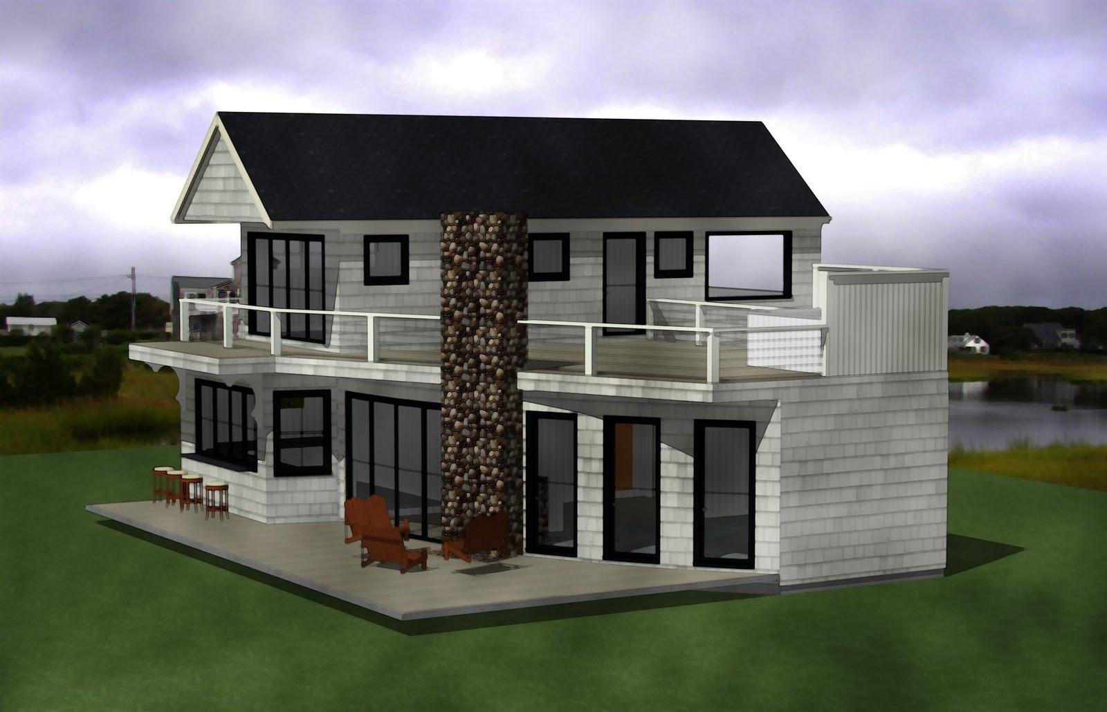 The Burman Beach House Wedge Ii Flat Roof