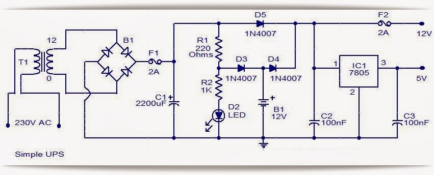 Simple ups diagram wiring diagrams schematics simple ups diagram simple ups circuit diagram with explanation rh hg4 co at simple ups elepros simple ups elepros simple mini ups circuit diagram circuit asfbconference2016 Image collections