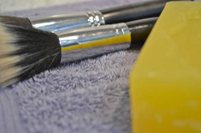 Jabon Lagarto limpiar brochas maquillaje