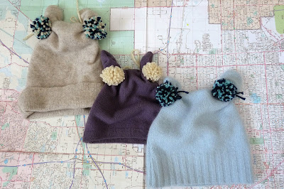 How to Make a Pom Pom Hat