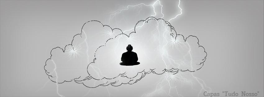 Capa para Facebook - Meditando- Tudo Nosso