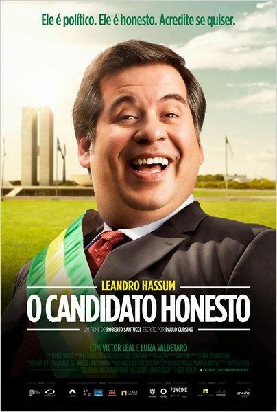 """Poster do filme """"O Candidato Honesto"""""""
