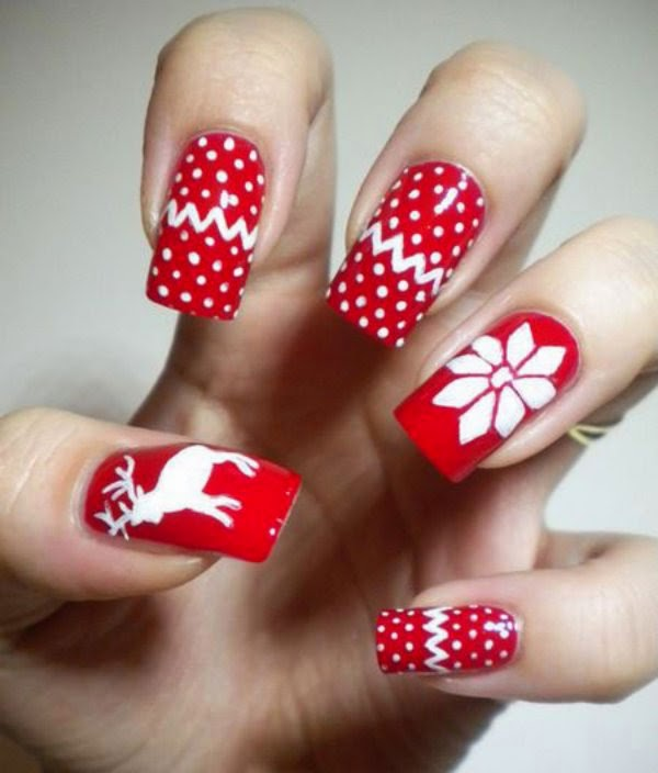 New Year Best Nail Art 2015httpnails Sidespot