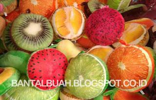 foto bantal bentuk buah buahan