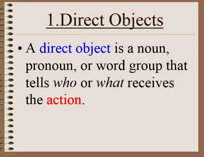 GWA Fourth Grade Blog Grammar Direct and Indirect Objects – Indirect Object Worksheet