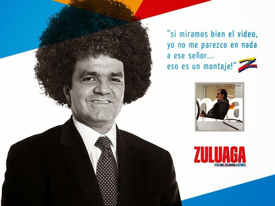 Todo ha sido un montaje on con Zuluaga