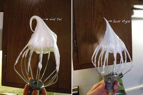 Whipped Meringue Ready Test | Tried & Twisted