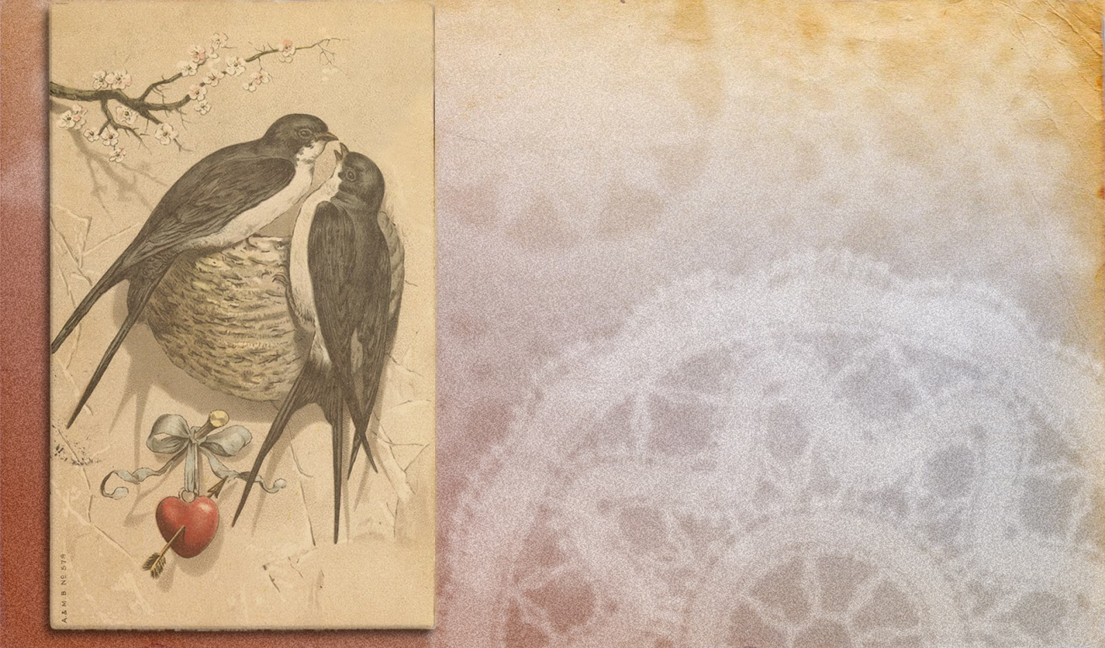 Athens printing blog a happy vintage valentine wallpaper for you voltagebd Choice Image