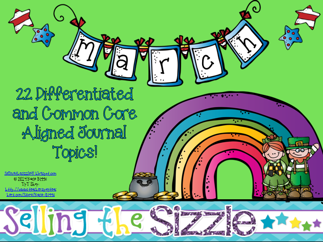 http://www.teacherspayteachers.com/Product/March-Journals-22-Differentiated-and-Common-Core-Aligned-Topics-1142417