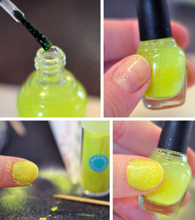 HOW TO MAKE YOUR OWN GLITTER NAIL POLISH IN 2 MINUTES