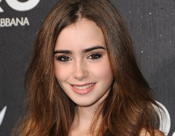 foto lily collins