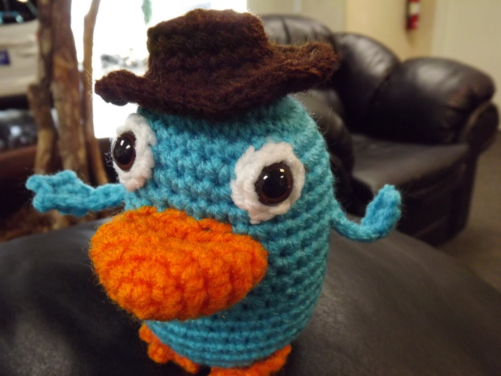My Crocheted World Perry The Platypus Free Crochet Pattern