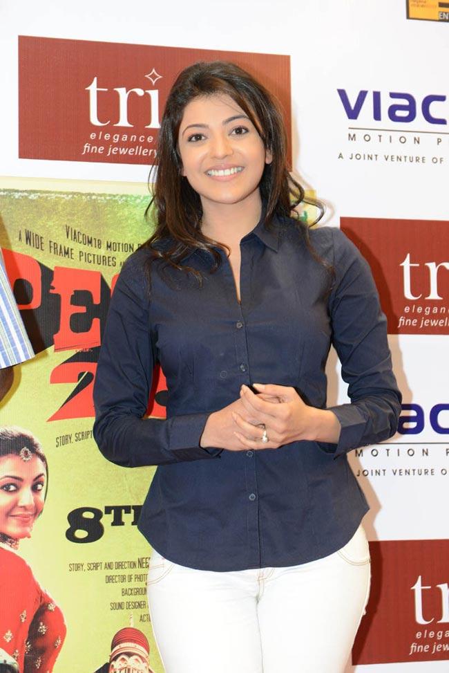 Kajal agarwal special 26 promotion