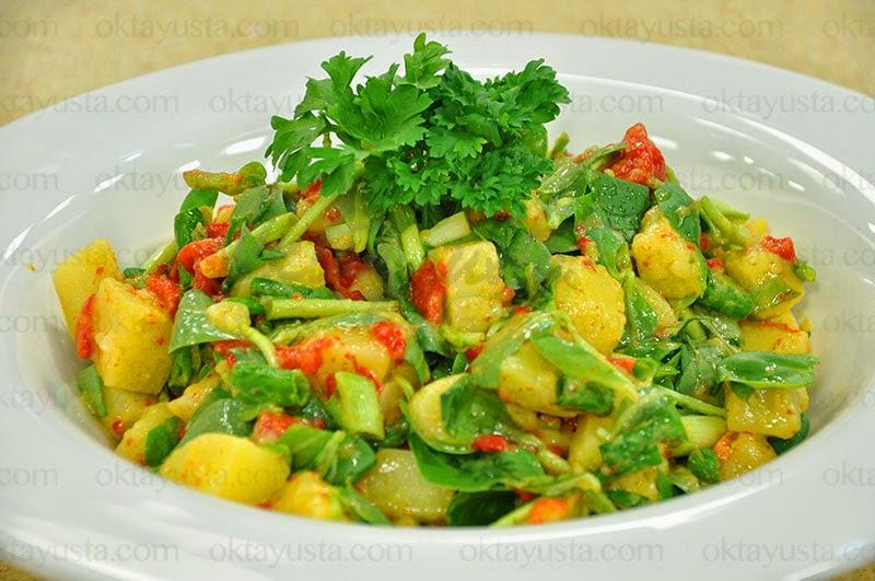 Patatesli Semizotu Salatası Tarifi