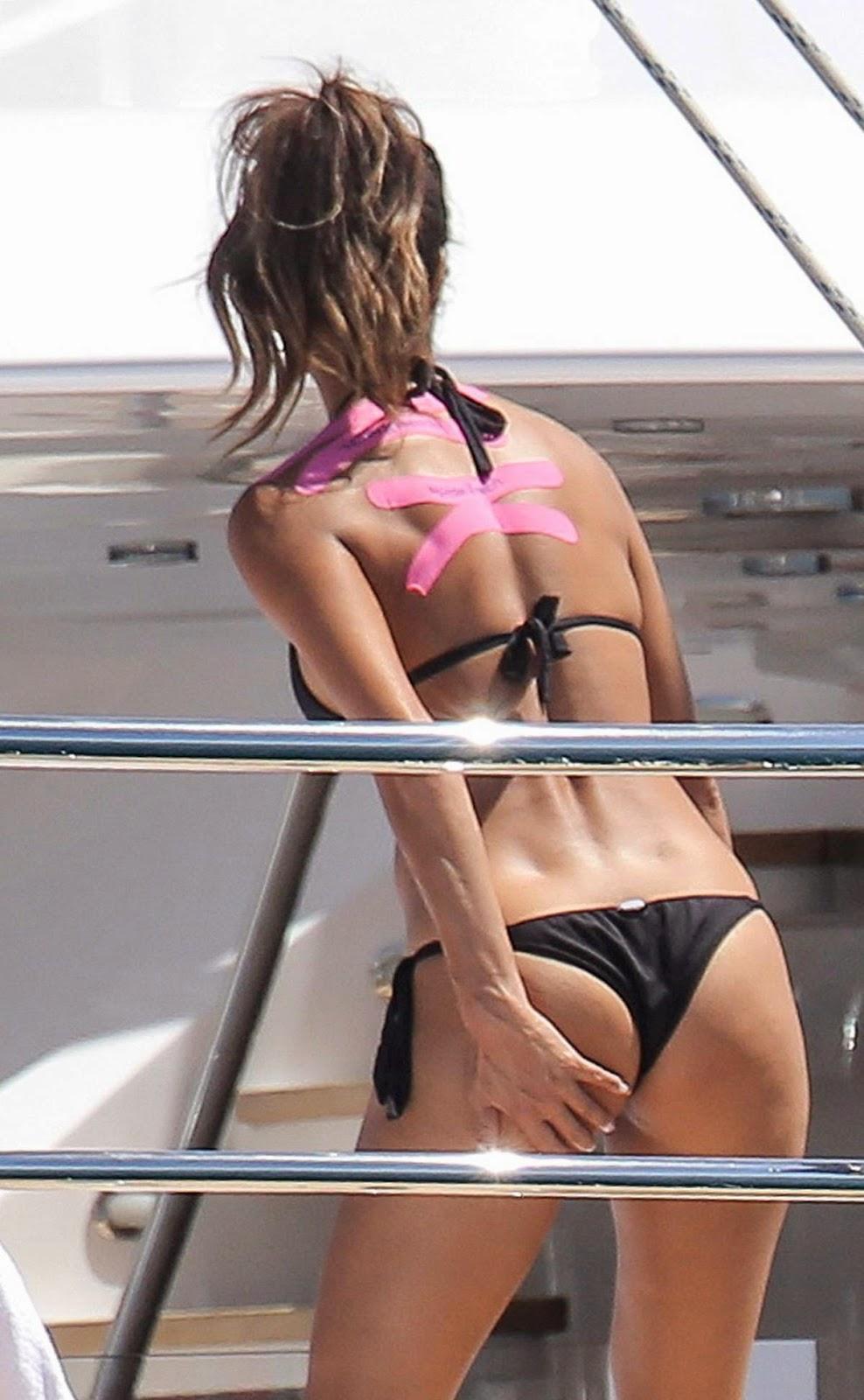 Nicole Scherzinger Cheeky Bikini Candids On A Yacht In Monte Carlo