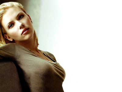 Scarlett Johansson Photo Shoot Wallpaper