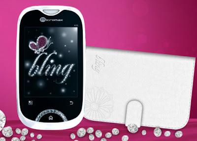 Micromax Bling 2, Micromax Bling 2 Dual SIM, Micromax Bling 2 Price, Micromax Bling 2 ladies phone, Micromax Bling 2 pink, Micromax Bling 2 Android Phone, Micromax Bling 2 smartphone