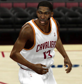 NBA 2K13 Tristan Thompson Cyber Face with Mask