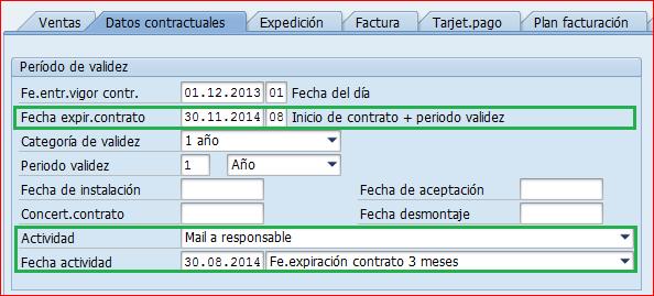 Contrato SAP