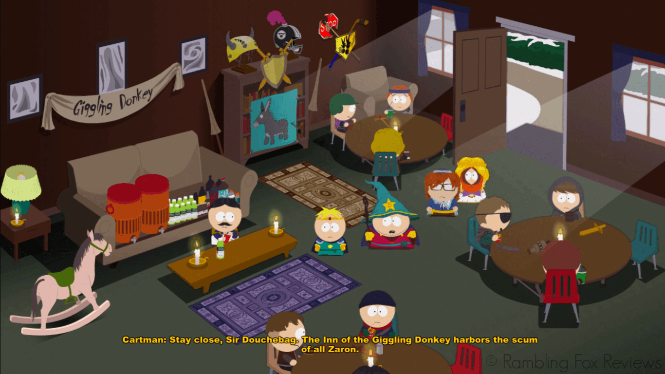 South Park: The Stick of Truth - Game Review giggling donkey inn