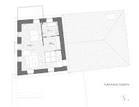 Planta bajo cubierta vivienda unifamiliar en Arbo - Casa Chandaspuga