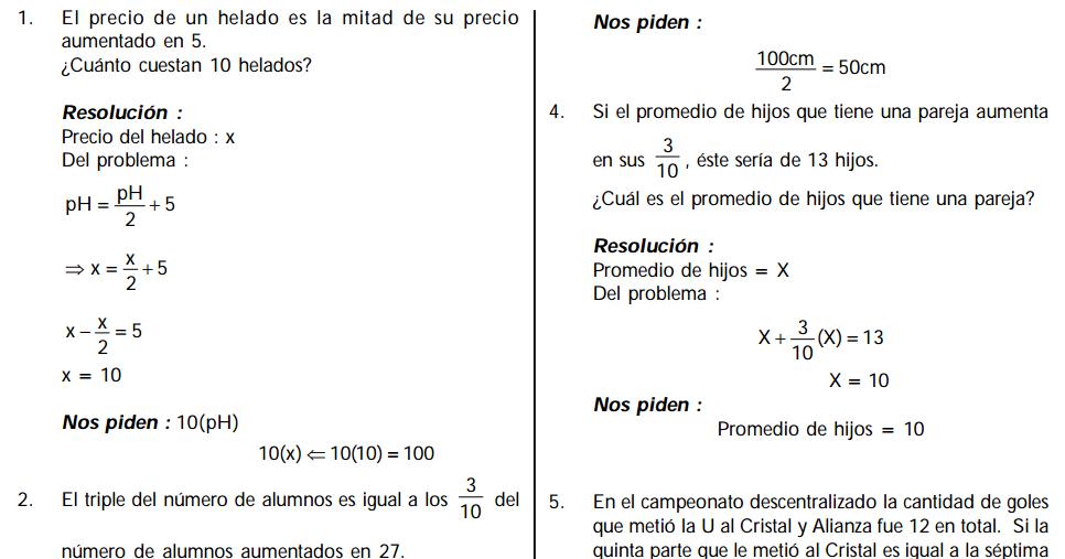VideoBlog Matemático: Problemas con Planteamiento Ecuaciones - Curso ...
