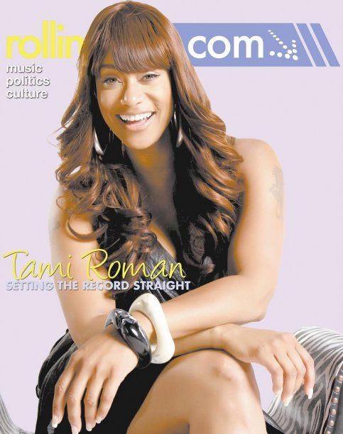 Tami Roman @ Rolling Out Magazine Cover Pics !