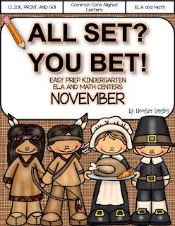 https://www.teacherspayteachers.com/Product/Easy-Prep-Centers-NOVEMBER-All-Set-You-Bet-2184809