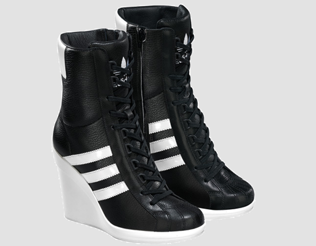 Jeremy Scott Shoes Black And White