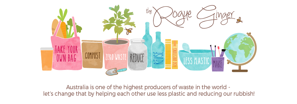 The Rogue Ginger - going zero waste and living plastic free