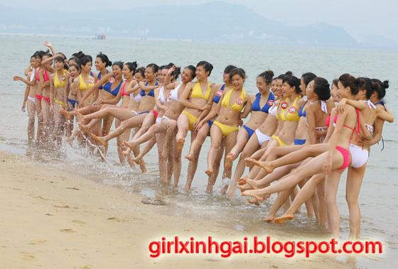 Hoa khôi áo tắm, miss bikini Vietnam, hình ảnh girl xinh bikini 15