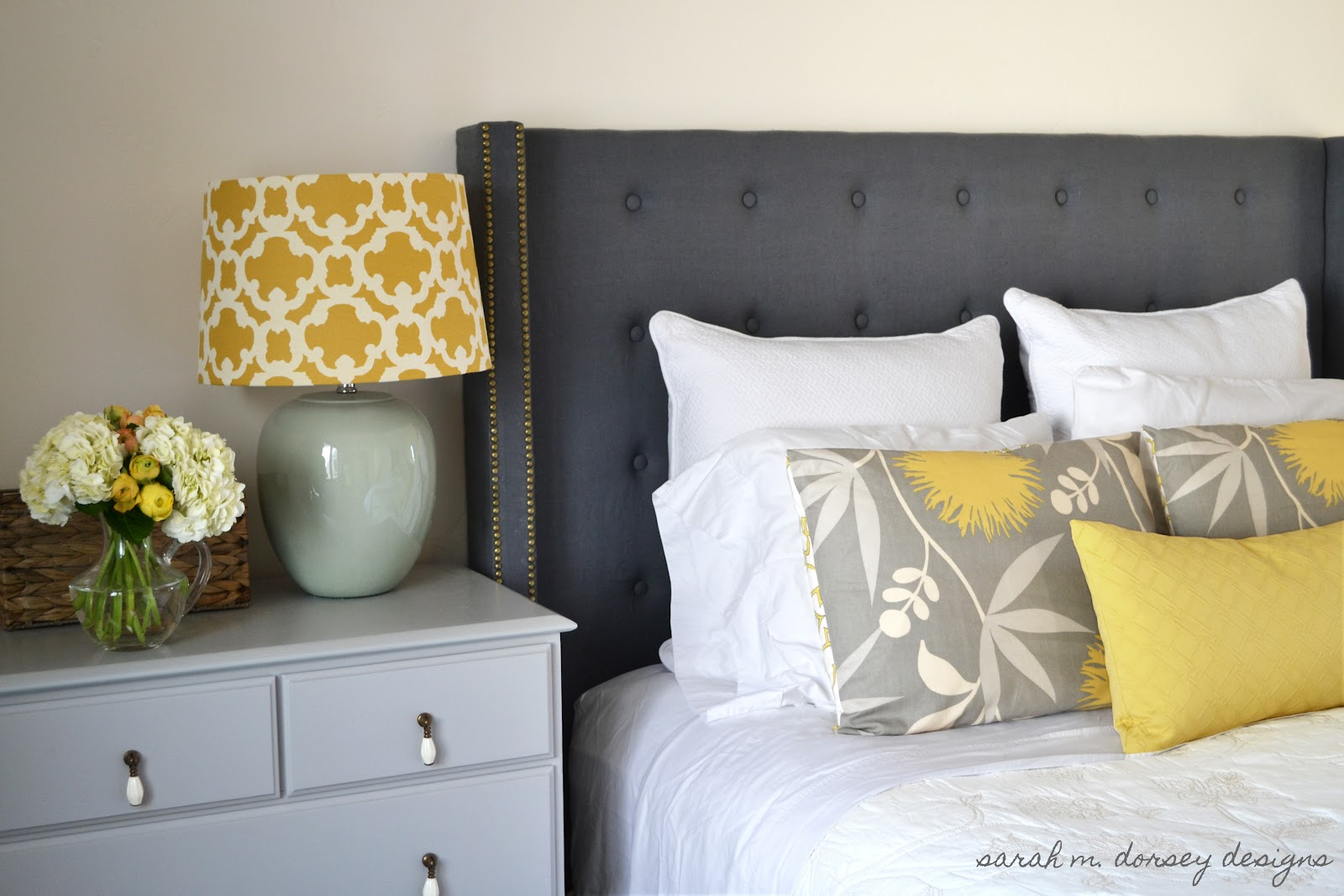 Diy Headboard Complete Dorsey Designs