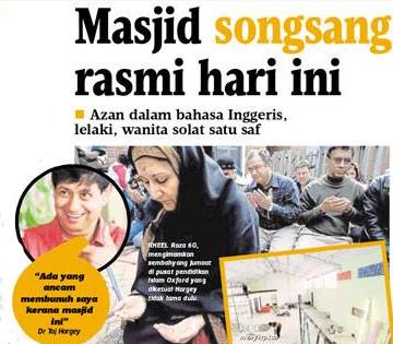 Masjid Ajaran Sesat Pertama Wujud Secara Rasmi