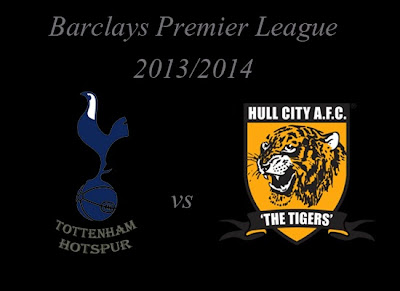 Tottenham Hotspur vs Hull City Barlays Premier League 2013