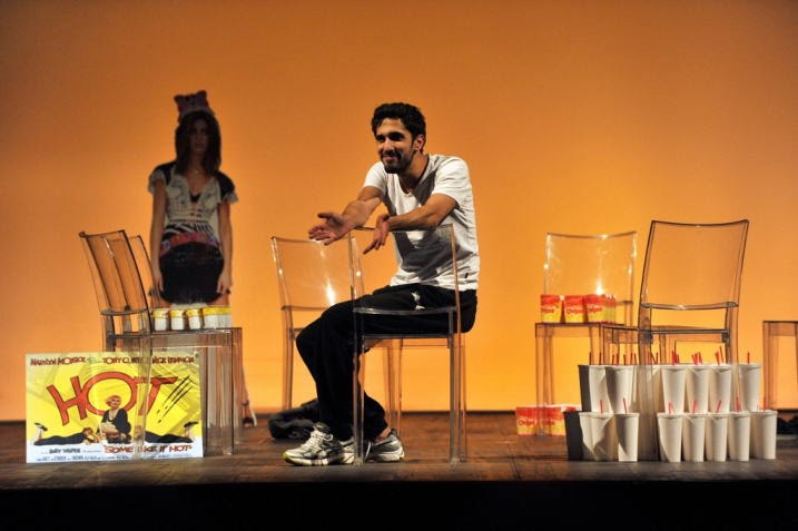 """spettacoli di teatro a milano nel weekend: """"La mia massa muscolare magra"""" al Teatro Libero (sconti per i lettori E@M)"""