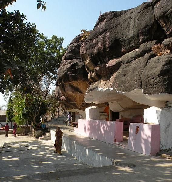 Parvati cave at Bhojpur