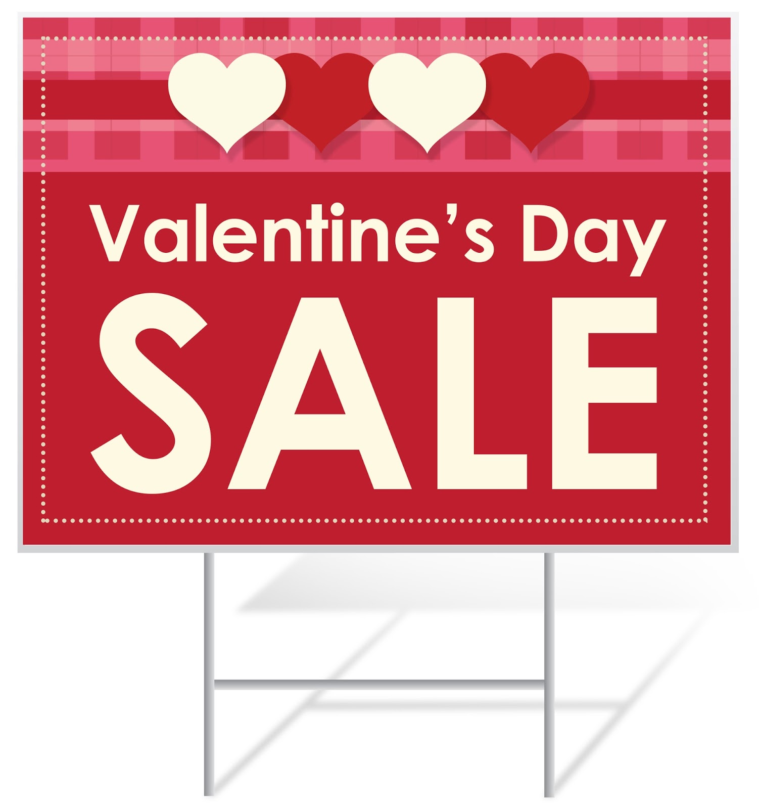 Valentineu0027s Day Sale Yard Sign | Banners.com