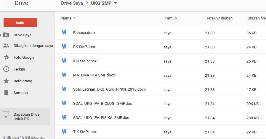 Contoh Soal Ukg Smp Dan Kunci Jawaban Blog Abdullah Shobirin