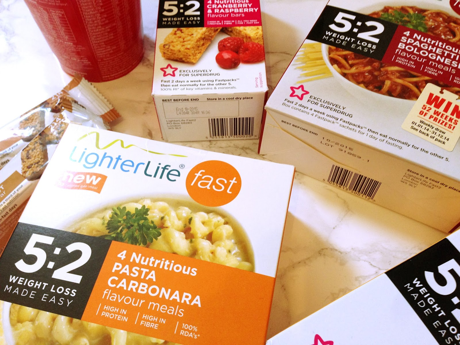 Lighter Life Fast Diet Review 5:2 Fasting