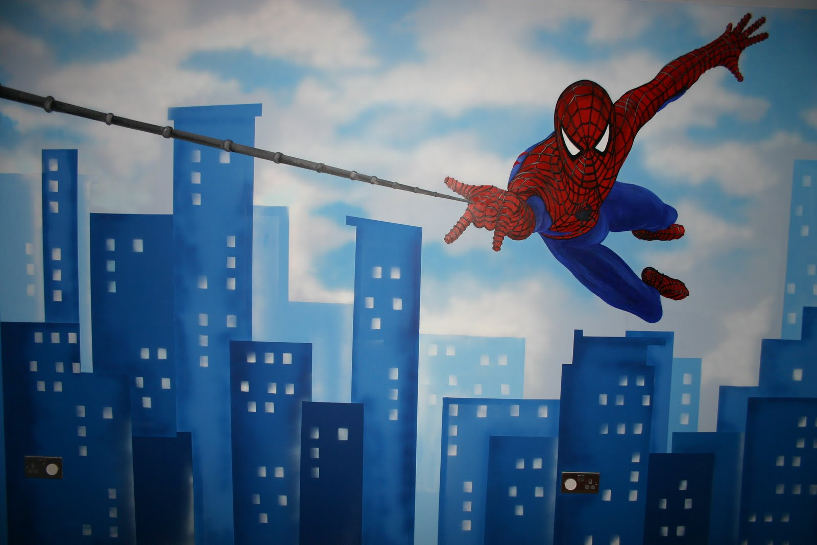 Mural Designs The Muralist Spiderman Wall Mural