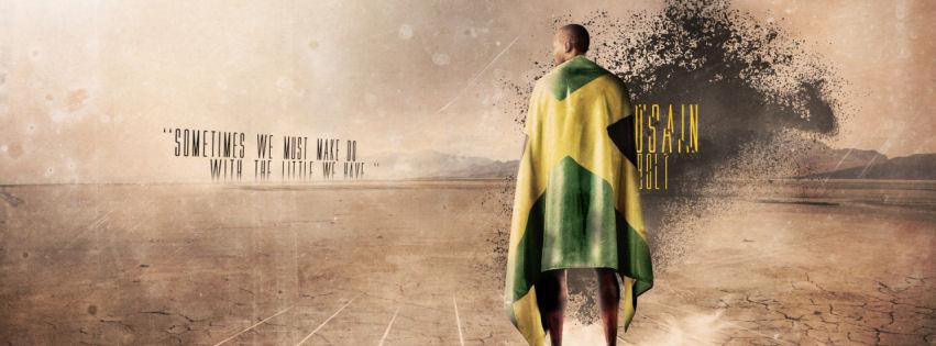Usain bolt facebook cover