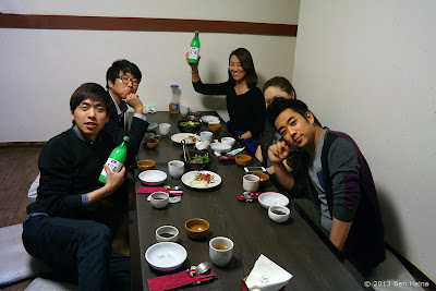 Dinner with INMD workers - Traditional Korean House