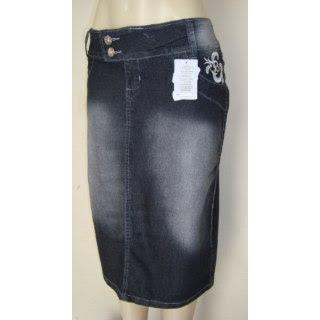Modelos de Saias Jeans para Evangélicas