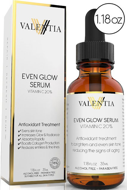 Valentia's Even Glow Serum, By Barbie's Beauty Bits