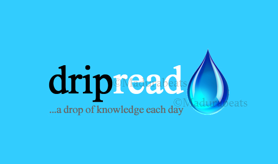 Drip-Read a page each day