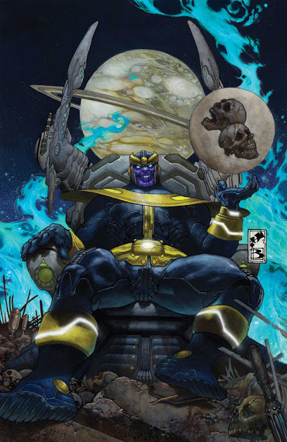 Thanos villano de Marvel