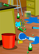 Уборка в лаборатории - Онлайн игра для девочек