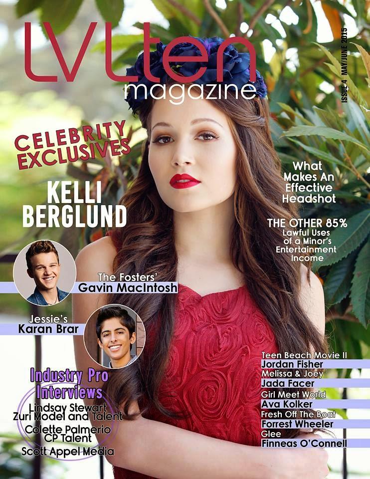 Actress, Dancer, Singer @ Kelli Berglund - LVLten May/June 2015