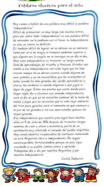 De la revista Maestra Jardinera N º 103, julio de 2005