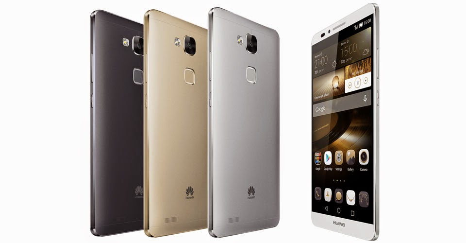 "Huawei unveils her new ""Honor 6 Plus"""